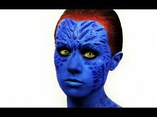 X-Men Mystique Makeup Tutorial