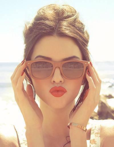 piękne usta.