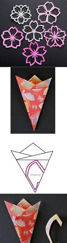 diy, flower, paper, cutting