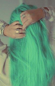 kolorowe włosy ;)