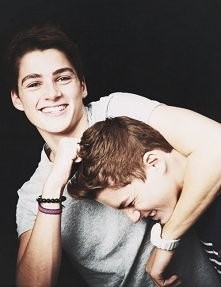 Jack and Finn Harries  (jacksgap on yt)