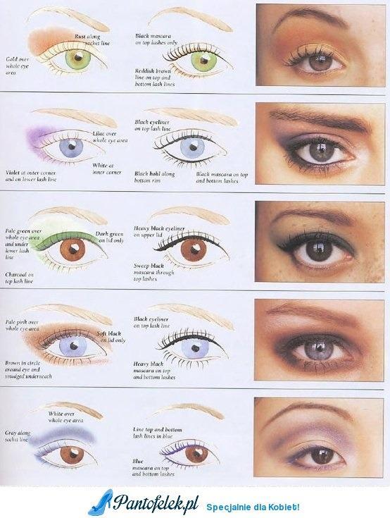 Zobacz Jaki Makijaż Pasuje Do Twoich Oczu Na Makijaże Zszywkapl