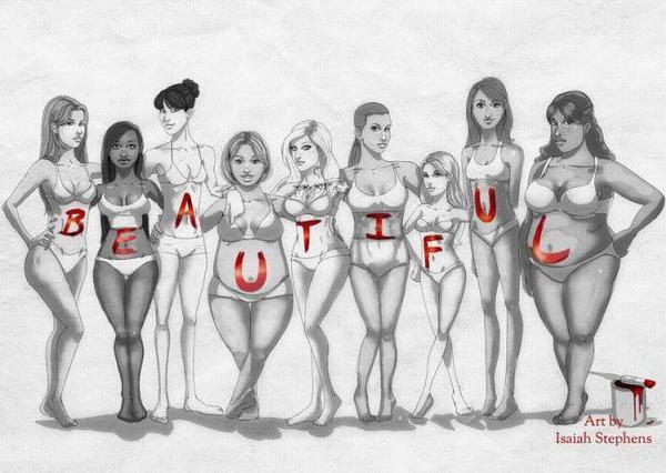 Zgadasz się z tym, że każda kobieta jest piękna?