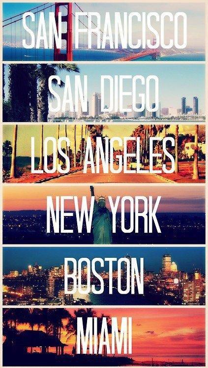 chce być we wszystkich z tych miejsc!! <3