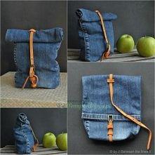 torebka z jeansow