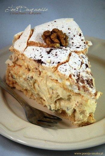 Tort bezowy Dacquoise z dak...