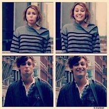 """LOL"" Miley Cyrus & Douglas Booth <3"
