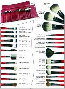 pędzelki do make upu
