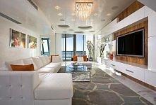 super szykowny penthouse nad oceanem w stylu glamour ;)