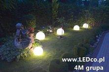 Świecące kule ogrodowe. Dostępne na LEDco.pl