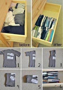 Składanie ubrań :)