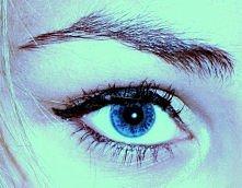 Moje oczko , wszyscy mówią że ładne , dla mnie są normalne:)