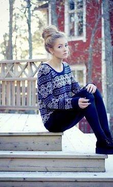 piękny sweterek !