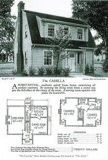Mały, ekonomiczny, amerykański tani domek z lat 20 – czemu nie?