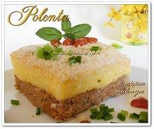 Polenta z mięsem mielonym (...