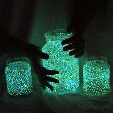 Jak zrobić świecące słoiki?...