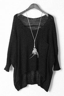 Bo powyciągane, wielgachne swetry są najlepsiejsze!