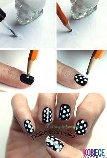 Jak zrobić idealne kropki na pazurkach :)