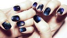 Co powiecie na manicure galaxy? ♥