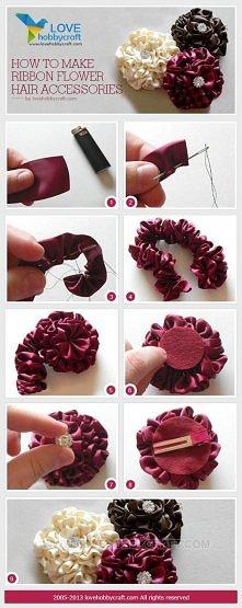 kwiat z kokardy