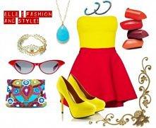 Żółto-czerwony zestaw :)