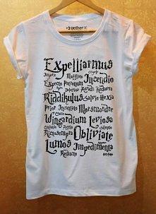koszulka - czary z Harrego Pottera