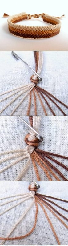 diy, weave, bracelet, tutorial, easy