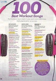 Znacie jeszcze jakieś super piosenki do ćwiczeń? :)