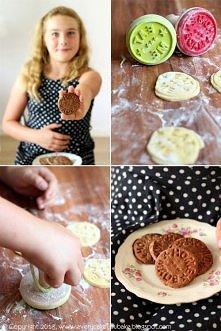 domowe ciasteczka w dwóch w...