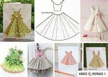 kartki sukieneczki