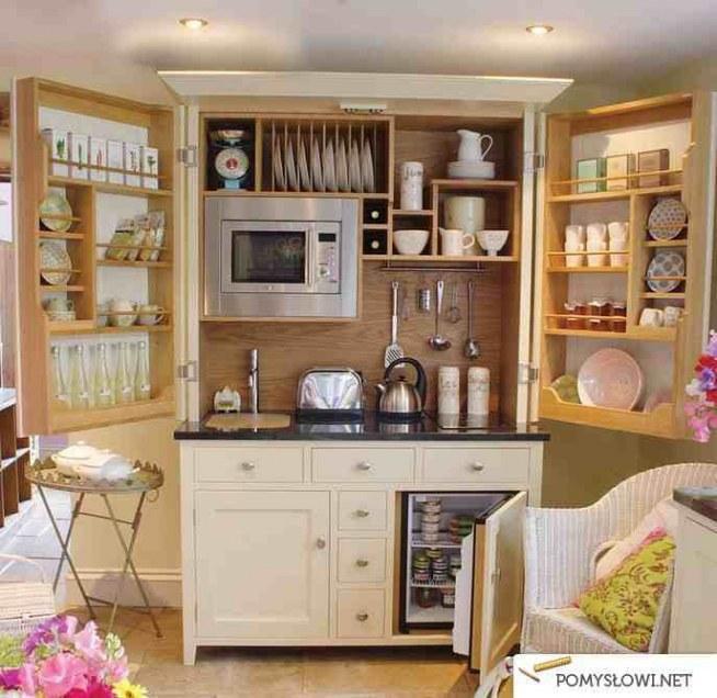 Sposób Na Małą Kuchnię Na Dom I Ogród Inspiracje Zszywkapl
