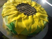 Tort słonecznik