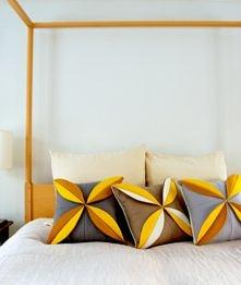 Poszewka na poduszkę DIY zrób to sam. Instrukcja na Tipy.pl