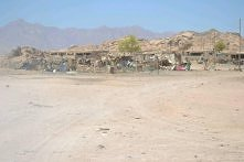 wioska beduinska , Egipt