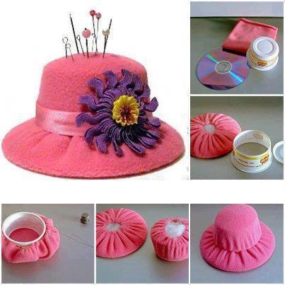 igielnik kapelusik handmade