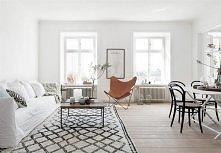 salon, styl skandynawski, Finlandia