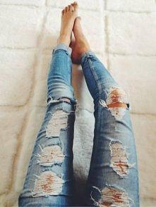 Lubicie podarte jeansy ?