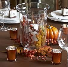 jesienna dekoracja na stół