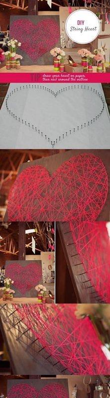 serce, heart, string heart,...