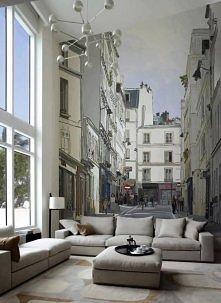 Gdyby nie to okno, wciąż bym myślała, że te kanapy stoją w środku miasta ;)