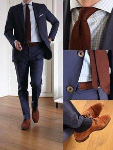 bardzo elegancki zestaw dla nowoczenego mężczyzny