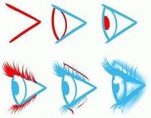 Jak narysować oko? Krok po ...