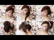 quick, summer, hairstyle, tutorial
