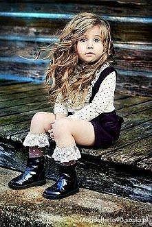 mała modelka .