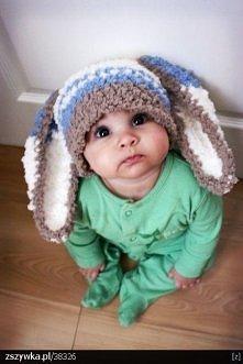 jaki kochany króliczek <3