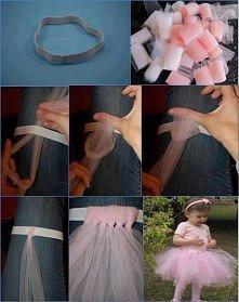 spódniczka dla małej baletnicy
