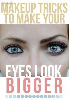 Jak powiększyć oko , jakiego błędu nie popełniać !!