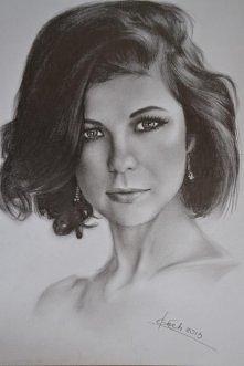 rysunek ołówkiem, piękny :D