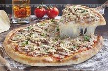 Pizza z pieczarkami Joanny