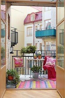 Przytulny balkon :)